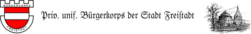 Bürgerkorps Freistadt Logo