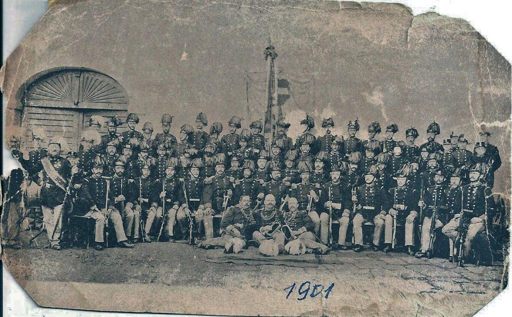 Freistadt Bürgerkorps 1901