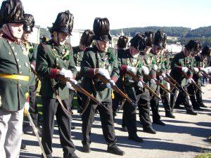 Bürgerkorps Bewaffnung